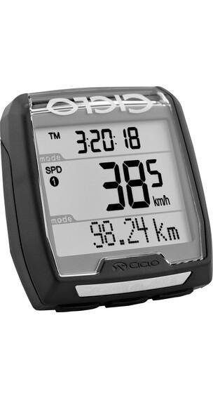 Ciclosport CM 4.41 A Licznik rowerowy z czujnikiem tętna czarny